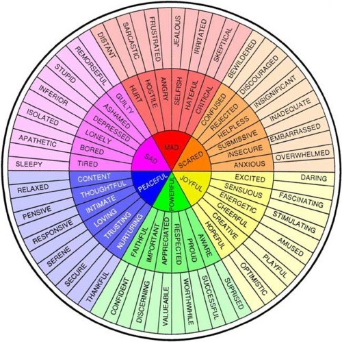 Emotion Color Wheel