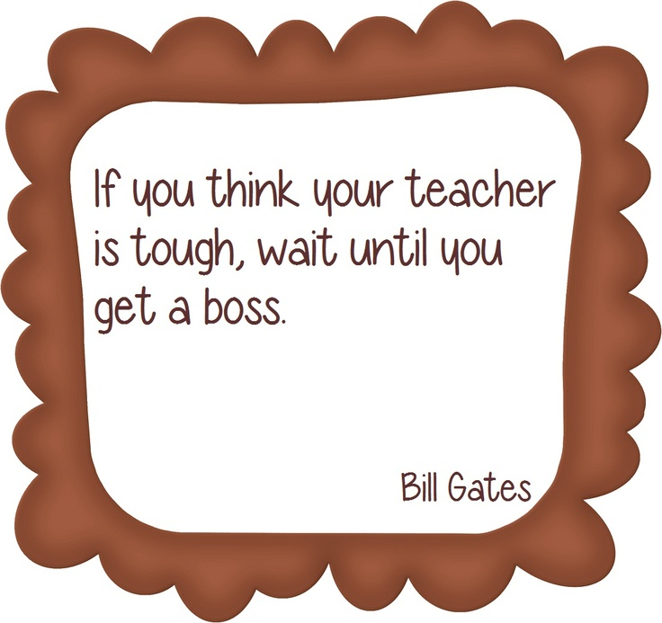 Boss vs. Teacher