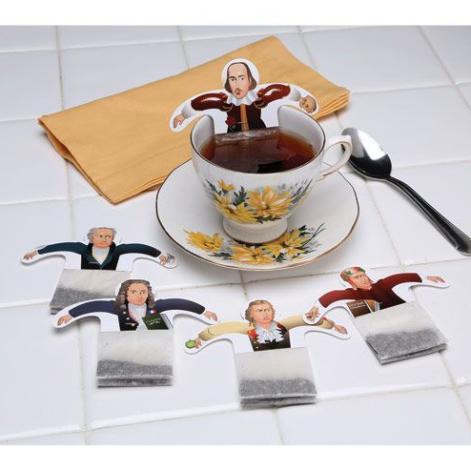 Authors in tea